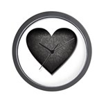 Heart of Stone Anti Valentine's Day Wall Clock
