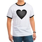 Heart of Stone Anti Valentine's Day Ringer T