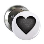 Heart of Stone Anti Valentine's Day Button
