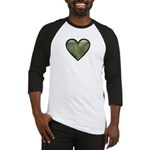 Love Military Cammo Heart Baseball Jersey