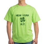 New York St. Patrick's Day Green T-Shirt