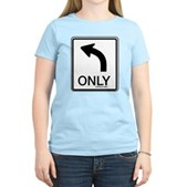 Left Only Women's Light T-Shirt