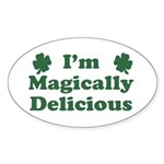I'm Magically Delicious Sticker (Oval)