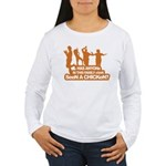 Chicken Dance Women's Long Sleeve T-Shirt