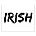 Irish Handwriting Small Poster