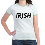 Irish Handwriting Jr. Ringer T-Shirt
