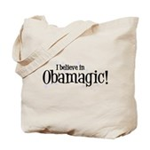 I Believe in Obamagic Tote Bag