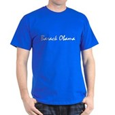 Script Barack Obama Dark T-Shirt