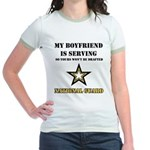 National Guard - My Boyfriend Jr. Ringer T-Shirt
