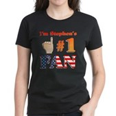 I'm Stephen's #1 Fan Women's Dark T-Shirt