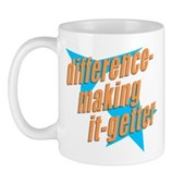 Do you get it? Do you make a difference? Then you are a difference-making it-getter! Only a select few can pull off this design, and you know who you are! Colbert Report fans, this is for you!