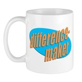 Do you make a difference? Then you're a difference-maker! Only a select few can pull off wearing this special design. Colbert Report fans, this is for you! Stephen would be proud!