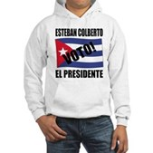 Voto! Esteban Colberto Hooded Sweatshirt