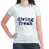 Diving Freak Jr. Ringer T-Shirt