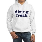 Diving Freak Hooded Sweatshirt