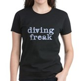 Diving Freak Women's Dark T-Shirt