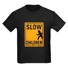 Slow Children Kids Dark T-Shirt