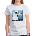 Save the Albatross (close-up) Women's T-Shirt