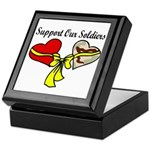 Military Support OIF Soldier Love Keepsake Box