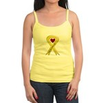 Keep My Soldier Safe Yellow Ribbon Jr. Spaghetti T