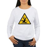 Warning: Clumsy! Women's Long Sleeve T-Shirt
