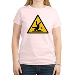 Warning: Clumsy! Women's Light T-Shirt