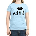 Evolution is following me Women's Light T-Shirt