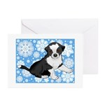 Border Collie Holiday Cards