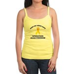 Keep my hero safe! OIF Jr. Spaghetti Tank