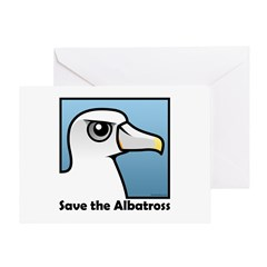 Save the Albatross (close-up) Greeting Card