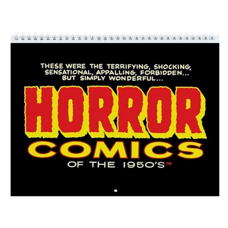 Horror Comics of the 1950s 2011 12-Month Calendar