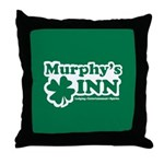 Murphy's INN Throw Pillow