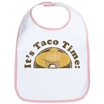 It's Taco Time! Bib