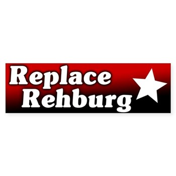 Denny again?  No!  Replace Rehberg in Congress bumper sticker