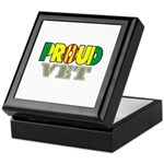 Proud Vietnam Veteran Vet Keepsake Box