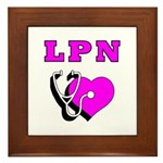 LPN Care Framed Tile