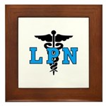 LPN Symbol Framed Tile