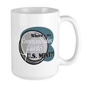 Where's My Commemorative Quarter? Large Mug