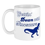 Gettin' Down With Dinosaurs Mug