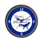 Gettin' Down With Dinosaurs Wall Clock