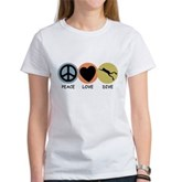 Peace Love Dive Women's T-Shirt