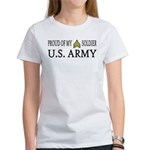 SGT - E5 - Proud of my soldier Women's T-Shirt