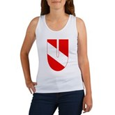 Scuba Flag Letter U Women's Tank Top