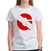Scuba Flag Letter G Women's T-Shirt