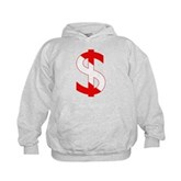 Scuba Flag Dollar Sign Kids Hoodie