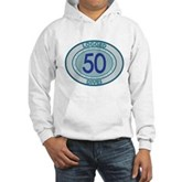 50 Logged Dives Hooded Sweatshirt