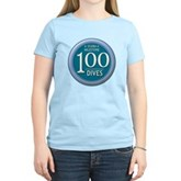 100 Dives Milestone Women's Light T-Shirt