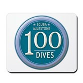 100 Dives Milestone Mousepad