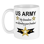 US Army Grandsons Defending Mug
