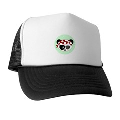 Pirate Panda Trucker Hat